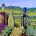 The Tuscan Vineyard  by Claudine Pond