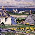 The Two Crofts by Francis Campbell Boileau Cadell