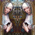 the two Marys at the Alhambra by Candee Lucas