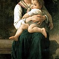 The Two Sisters by William Bouguereau