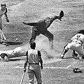 The Umpire Calls It Safe by Underwood Archives