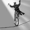 The Unicyclist  by H James Hoff