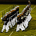 The United States Marine Corps Silent Drill Platoon by Robert Bales