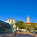 The University Of Texas Tower by Kristina Deane
