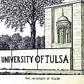 The University Of Tulsa by Frederic Kohli