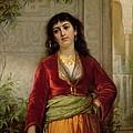 The Unwelcome Companion , C.1872-73 by John William Waterhouse