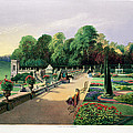 The Upper And Lower Terrace Gardens by E. Adveno Brooke