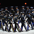 The U.s. Army Drill Team Performs by Stocktrek Images