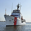 The U.s. Coast Guard Cutter Valiant by Stocktrek Images