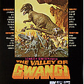 The Valley Of Gwangi, Us Poster Art by Everett