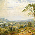 The Valley Of Wyoming by Jasper Francis Cropsey