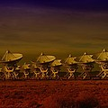 The Very Large Array In New Mexico by Jeff Swan