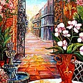 The View From A Courtyard by Diane Millsap