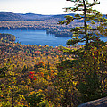 The View From Bald Mountain - Old Forge New York by David Patterson