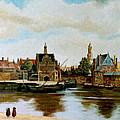 The View Of Delft by Henryk Gorecki