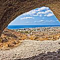 the view of Perissa by Meirion Matthias