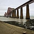 The View Of The Forth Bridge by Lucinda Walter