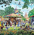 The Village Fayre  by Steve Crisp