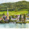 The Village Of Einruhr In Germany by Dai Wynn