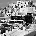 The Village Of Oia 2 by Jack Daulton