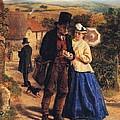 The Village Postman by William Hemsley