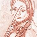 The Violinist by Horacio Prada