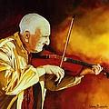 The Violinist by Van Bunch