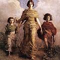 The Virgin by Abbott Handerson Thayer
