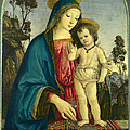 The Virgin And Child by Pintoricchio