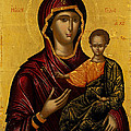 The Virgin Hodegetria by Emmanuel Lambardos