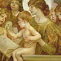 The Virgin Of The Angels by Giulio Aristide Sartorio