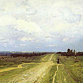 The Vladimirka Road by Isaak Ilyich Levitan