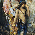 The Voices. Hesiod And The Muse by Gustave Moreau