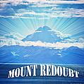 The Volcano Mt Redoubt by Debra  Miller