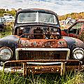 The Volvo Junkyard by Dale Kincaid