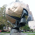 The W T C Fountain Sphere by Rob Hans