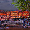 The Wagon by Gunter Nezhoda