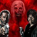 The Walking Dead by Vinny John Usuriello