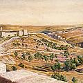The Walls Of Jerusalem, 1869 by William Holman Hunt