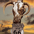 The Warmth Of Route 66 by Mike McGlothlen