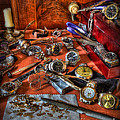 The Watchmaker's Desk by Lee Dos Santos