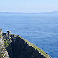 The Watchtower At Slieve League by Bill Cannon