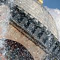 The Water Droplets From The Fountain At The Hagia Sophia Turkey by Ronald Jansen