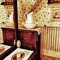 The Water Pitcher And Wash Basin by Jean Goodwin Brooks