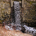 The Waterfall At Hagy's Mill by Bill Cannon