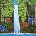 The Waterfall by Brenda  Drain