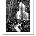 Moss Glen Falls Poster by Mike Nellums