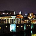 The Waterworks At Night by Bill Cannon