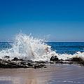 The Waves Of Carpinteria by Tony Boyajian