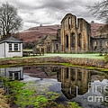 The Welsh Abbey by Adrian Evans